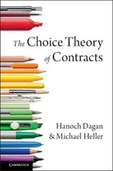 The Choice Theory of Contracts | Ohanokh Dagan |