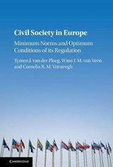 Civil Society in Europe | Tymen J. Van Der Ploeg |