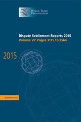 Dispute Settlement Reports | World Trade Organization |