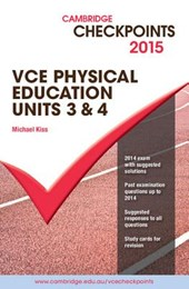 Cambridge Checkpoints Vce Physical Education, Units 3 and
