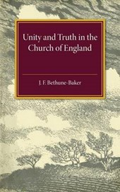 Unity and Truth In the Church of England