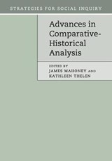Advances in Comparative-Historical Analysis | James Mahoney |