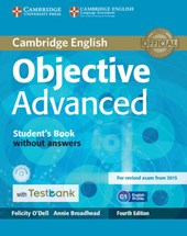 Objective Advanced Student's Book without Answers with CD-RO | Felicity Odell |