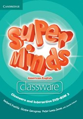 Super Minds American English Level 3 Classware and Interactive DVD-ROM