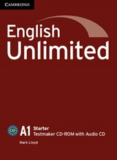 English Unlimited Starter Testmaker CD-ROM and Audio CD | Mark Lloyd |