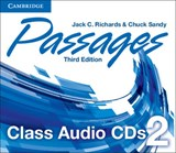 Passages Level 2 Class Audio CDs (3) | Jack C. Richards |