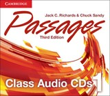 Passages Level 1 Class Audio CDs (3) | Jack C. Richards; Chuck Sandy |