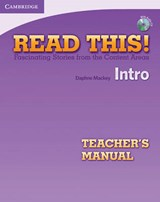 Read This! Intro Teacher's Manual with Audio CD | Daphne Mackey |
