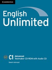 English Unlimited Advanced Testmaker CD-ROM and Audio CD | Sarah Ackroyd |
