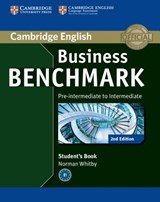 Business Benchmark Pre-intermediate to Intermediate BULATS Student's Book | Norman Whitby |