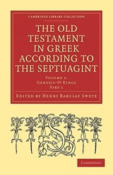 The Old Testament in Greek According to the Septuagint 2 Part Set |  |