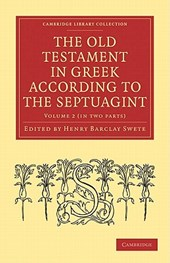 The Old Testament in Greek According to the Septuagint 2 Part Set