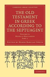 The Old Testament in Greek According to the Septuagint |  |