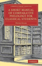 Short Manual of Comparative Philology for Classical Students