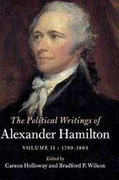 Political Writings of Alexander Hamilton: Volume 2, 1789-180