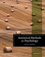 Statistical Methods for Psychology | David C. Howell |
