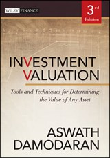 Investment Valuation | Aswath Damodaran |