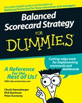 Balanced Scorecard Strategy For Dummies | Charles Hannabarger ; Frederick Buchman ; Peter Economy |