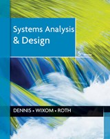 Systems Analysis and Design | Alan Dennis |