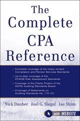 The Complete CPA Reference | Jae K. Shim |