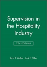 Study Guide to accompany Supervision in the Hospitality Industry, | John R. Walker |