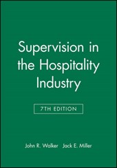 Study Guide to accompany Supervision in the Hospitality Industry,