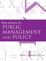 Meta-Analysis for Public Management and Policy | Evan J. Ringquist |