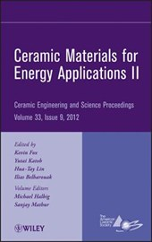 Ceramic Materials for Energy Applications II