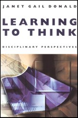 Learning to Think | Janet Gail Donald |