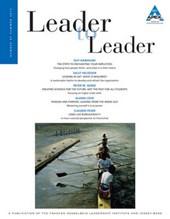 Leader to Leader (LTL), Volume 65, Summer
