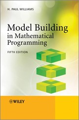 Model Building in Mathematical Programming | H. Paul Williams |