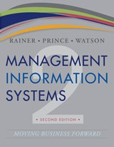 Management Information Systems | R. Kelly Rainer |