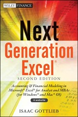 Next Generation Excel | Isaac Gottlieb |