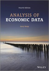 Analysis of Economic Data | Gary Koop |