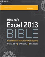 Excel 2013 Bible | John Walkenbach |