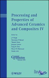 Processing and Properties of Advanced Ceramics and Composites IV | Jitendra P. Singh |