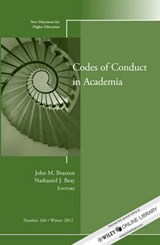 Codes of Conduct in Academia | John M. Braxton |
