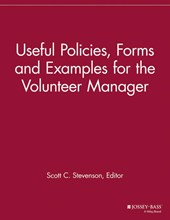 Useful Policies, Examples and Forms for the Volunteer Manager