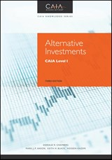Alternative Investments | Donald R. Chambers |