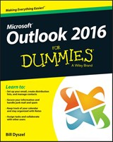 Outlook 2016 For Dummies | Bill Dyszel |