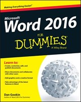 Word 2016 for Dummies | Dan Gookin |