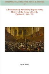 A Parliamentary Miscellany