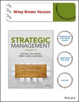 Strategic Management, Binder Ready Version | Jeffrey H. Dyer |