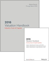 2016 Valuation Handbook - Industry Cost of Capital + Quarterly PDF Updates (Set)