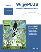 Survey of Accounting Binder Ready Version | Paul D. Kimmel |