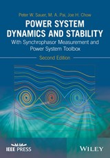 Power System Dynamics and Stability | Peter W. Sauer |