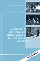 Challenges to Implementing Effective Reading Intervention in Schools | Barbara Foorman |