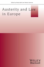 Austerity And Law In Europe | Marija Bartl |