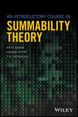 An Introductory Course in Summability Theory | Ants Aasma |