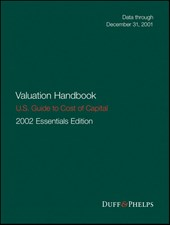 Valuation Handbook - U.S. Guide to Cost of Capital